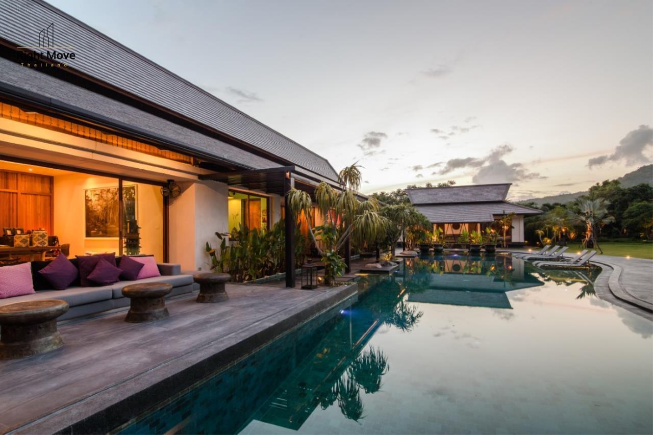 Right Move Thailand Agency's HR853 Hua Hin Villa for sale 200,000,000 THB - 2 Rai - Private Pool 3