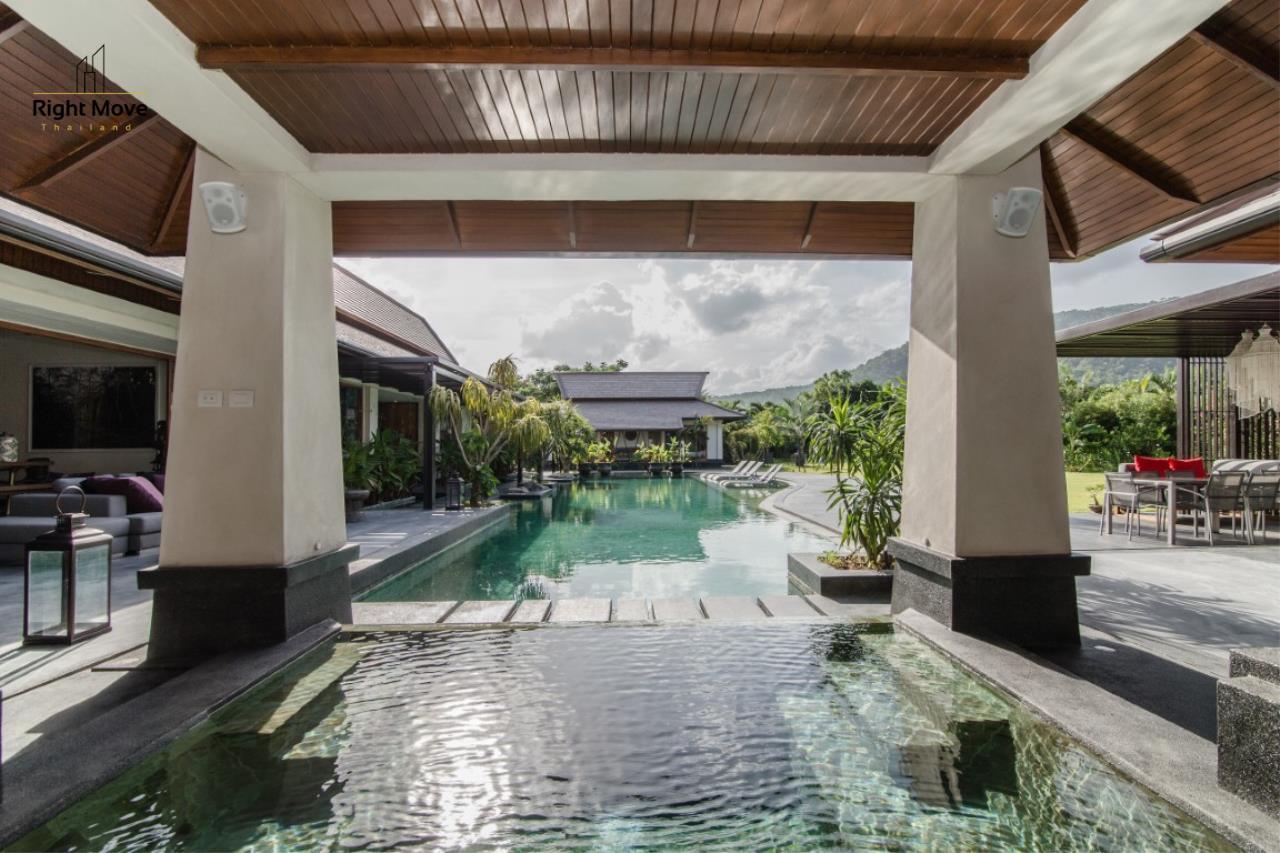 Right Move Thailand Agency's HR853 Hua Hin Villa for sale 200,000,000 THB - 2 Rai - Private Pool 6