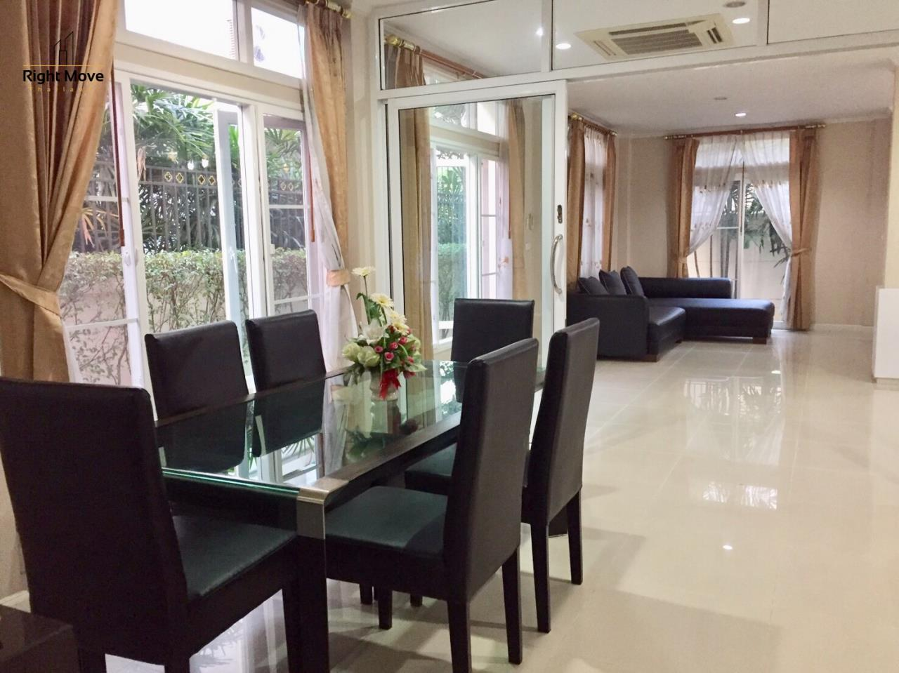 Right Move Thailand Agency's HR854 House For Rent 78,000 THB 3 Bedrooms 400 Sqm  4