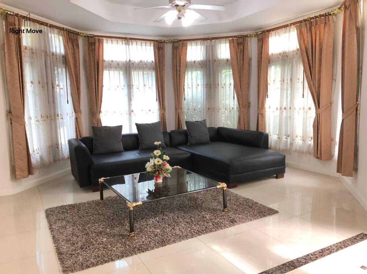 Right Move Thailand Agency's HR854 House For Rent 78,000 THB 3 Bedrooms 400 Sqm  3