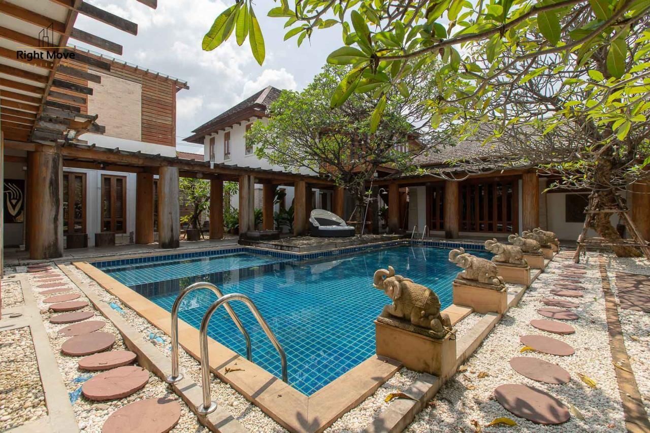 Right Move Thailand Agency's HR593 Single House with Private pool For Sale 120,000,000 THB  3