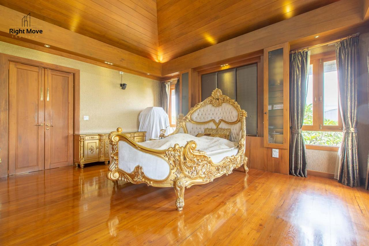 Right Move Thailand Agency's HR593 Single House with Private pool For Sale 120,000,000 THB  30