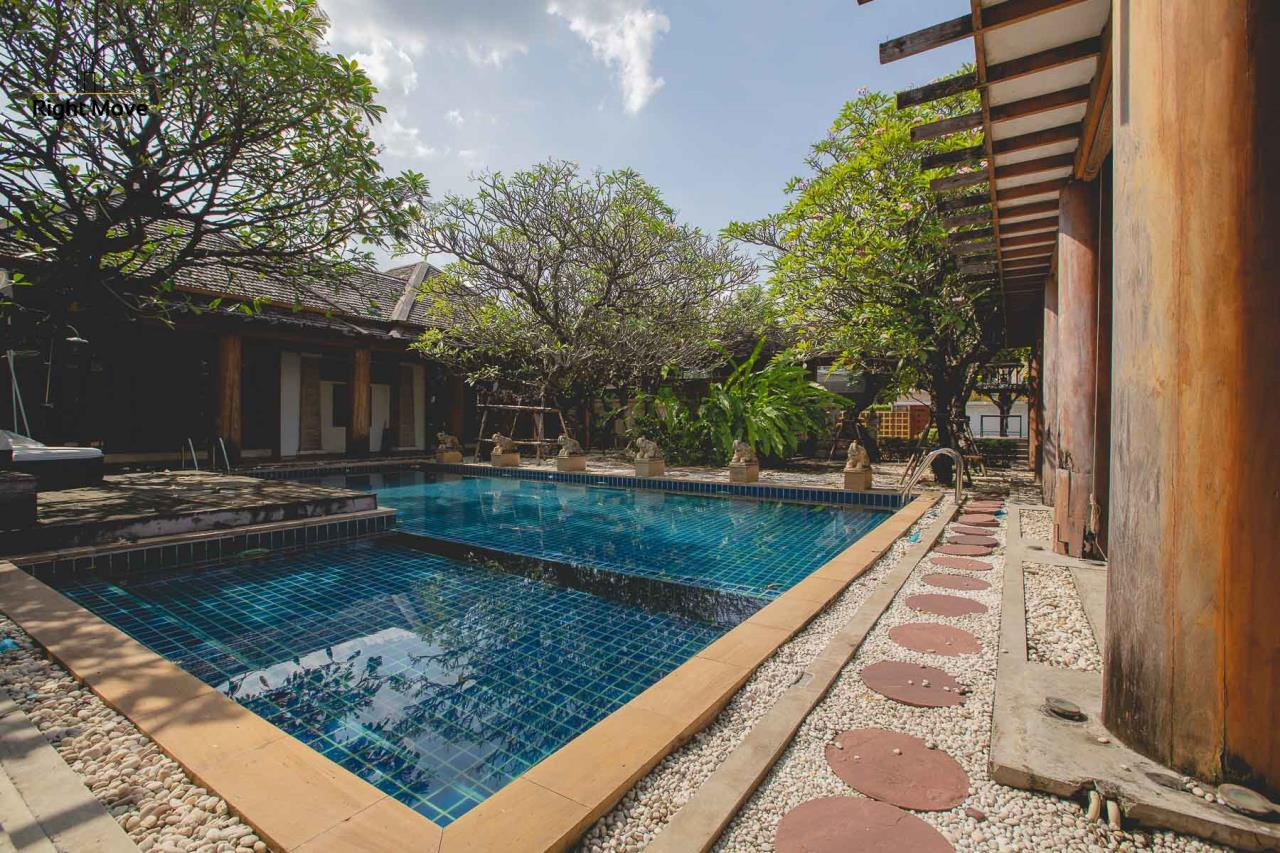 Right Move Thailand Agency's HR593 Single House with Private pool For Sale 120,000,000 THB  4