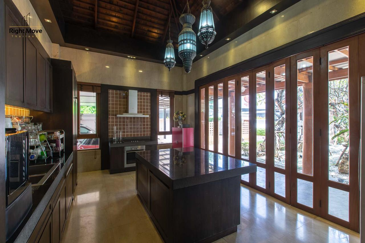 Right Move Thailand Agency's HR593 Single House with Private pool For Sale 120,000,000 THB  9