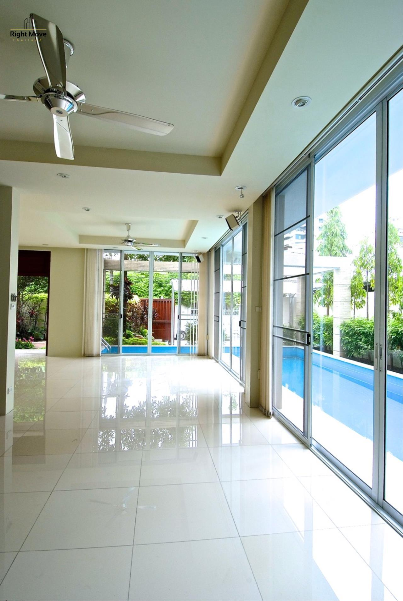 Right Move Thailand Agency's HR968 Single House For Rent 170,000 THB 4 Bedrooms 500 Sqm 3