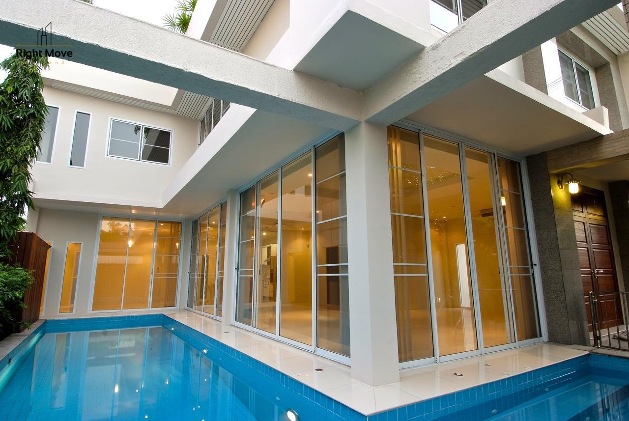 Right Move Thailand Agency's HR968 Single House For Rent 170,000 THB 4 Bedrooms 500 Sqm 7