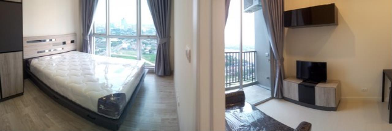 Agent - Lalida Phiangsungnoen Agency's For rent, Manor Condo, Sanambinnam, 1 bedroom, 30 sq.m., 25th floor, Building B, Chaophraya River view room, ready to move in 1