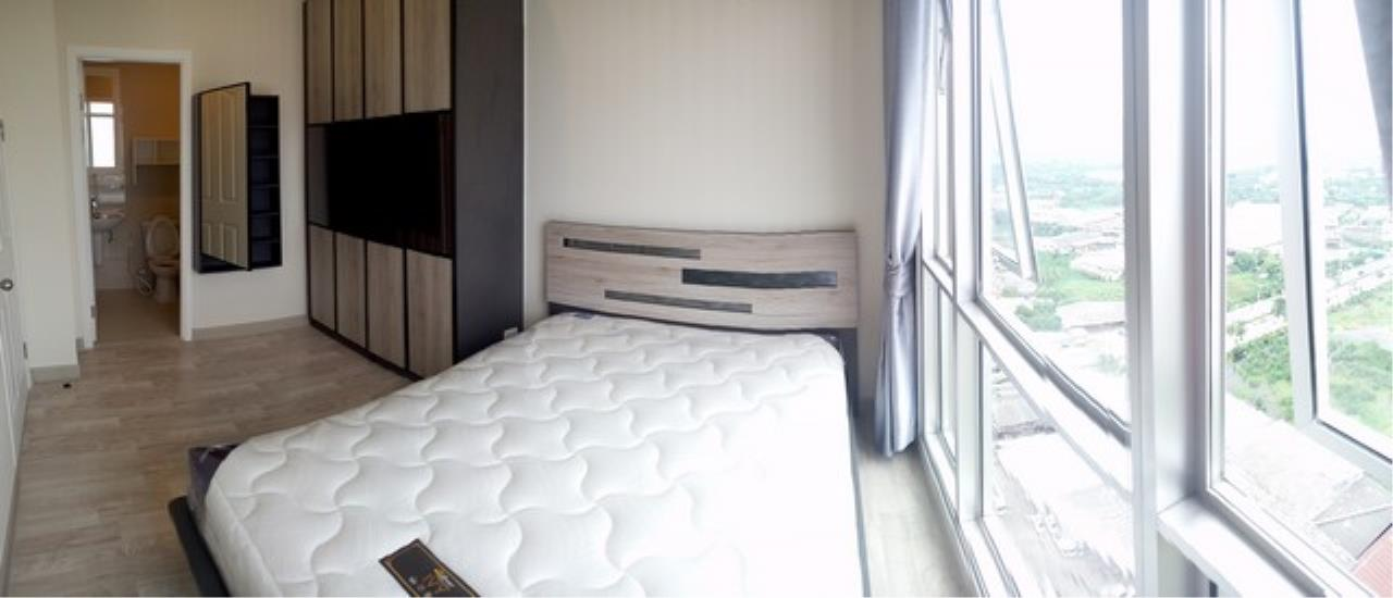Agent - Lalida Phiangsungnoen Agency's For rent, Manor Condo, Sanambinnam, 1 bedroom, 30 sq.m., 25th floor, Building B, Chaophraya River view room, ready to move in 3