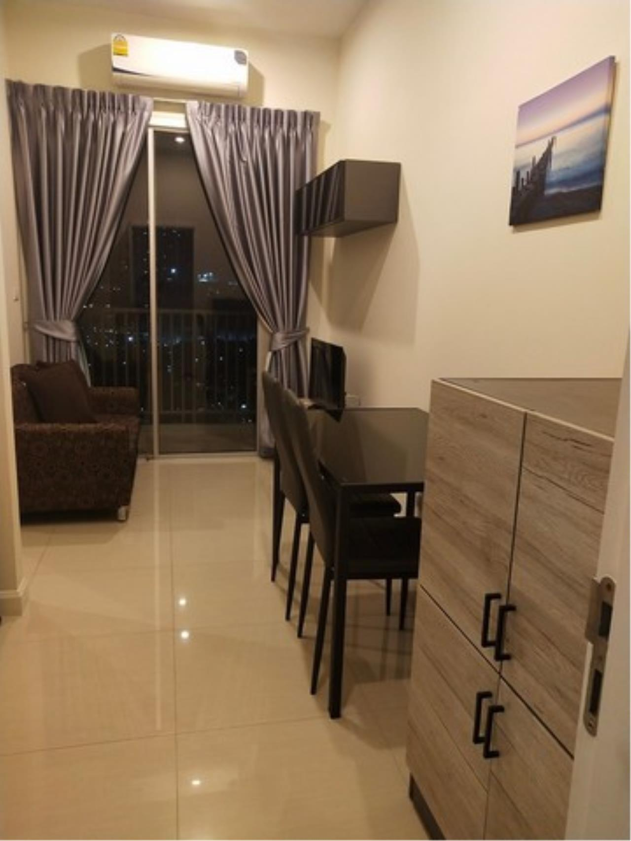 Agent - Lalida Phiangsungnoen Agency's For rent, Manor Condo, Sanambinnam, 1 bedroom, 30 sq.m., 25th floor, Building B, Chaophraya River view room, ready to move in 4