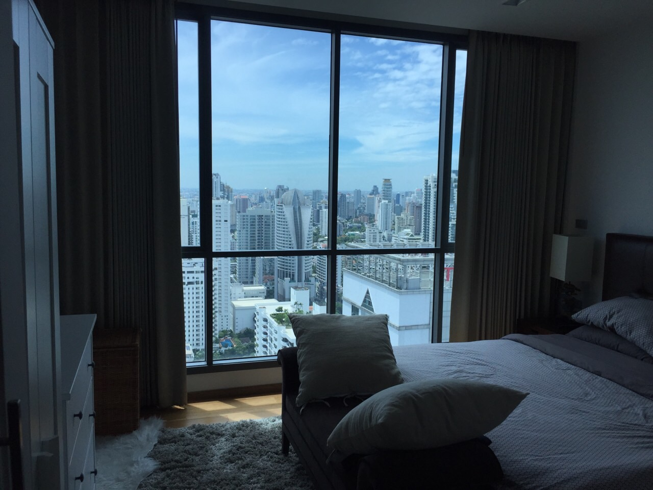 VisionQuest Thailand Property Agency's Bts Nana Spacious 1 bedroom + study room 2 bath size is 78sqm HIGH floor 2