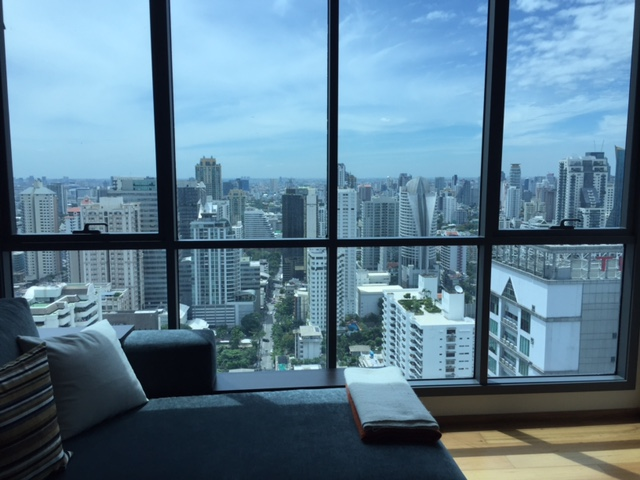 VisionQuest Thailand Property Agency's Bts Nana Spacious 1 bedroom + study room 2 bath size is 78sqm HIGH floor 3