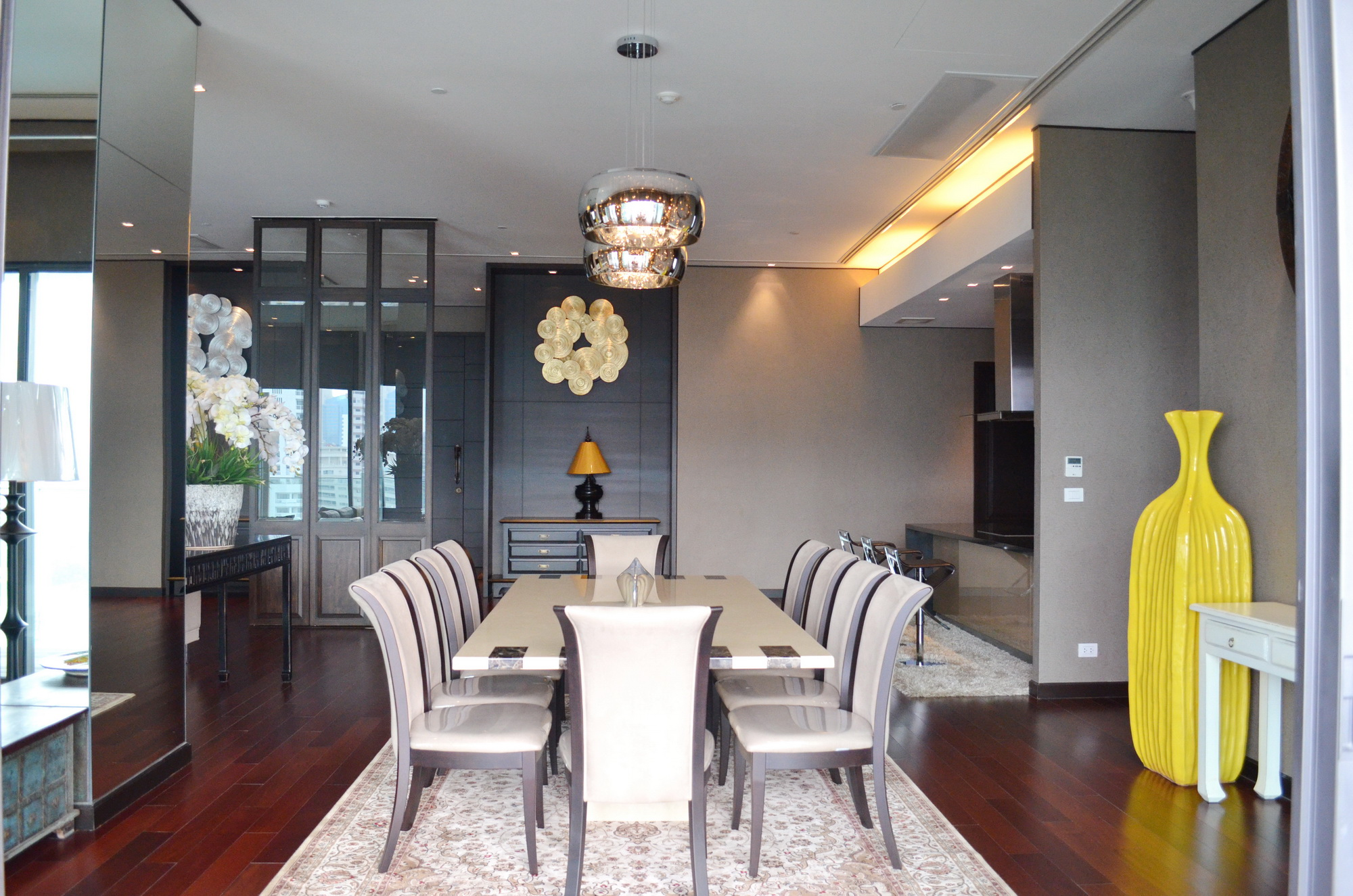 VisionQuest Thailand Property Agency's Phrom Phong 4 bedrooms 5 bathrooms, privet pool + balcony 480 Sq.m 5