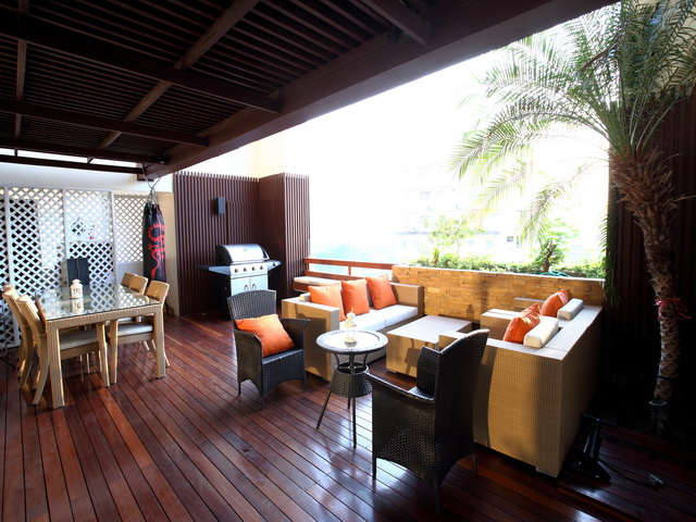 VisionQuest Thailand Property Agency's Luxury 3 beds 3 baths Size: 287 sq.m with city view huge balcony 2