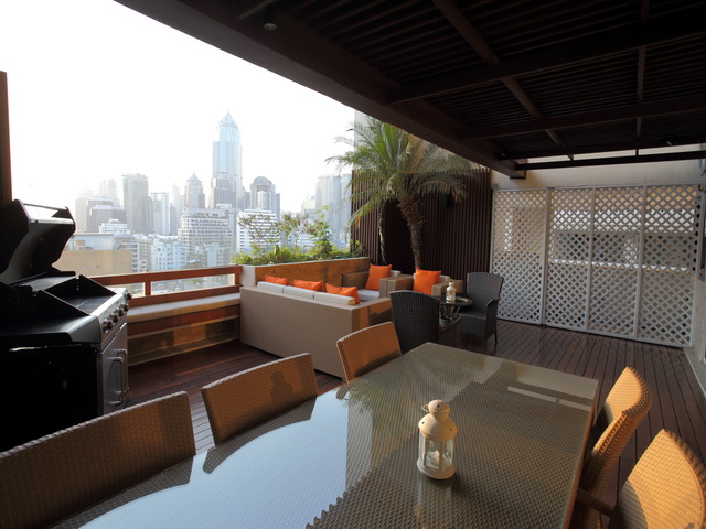 VisionQuest Thailand Property Agency's Luxury 3 beds 3 baths Size: 287 sq.m with city view huge balcony 14