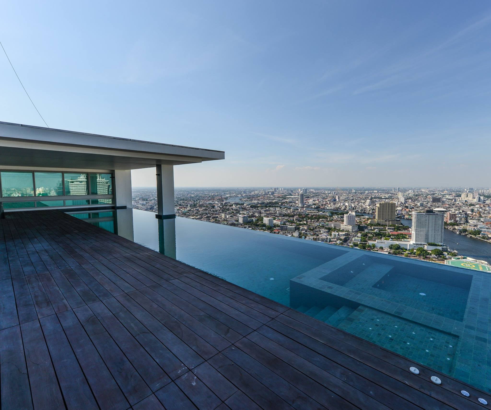 VisionQuest Thailand Property Agency's The River Penthouse 942sq.m spectacular 180 degrees river and city views 1