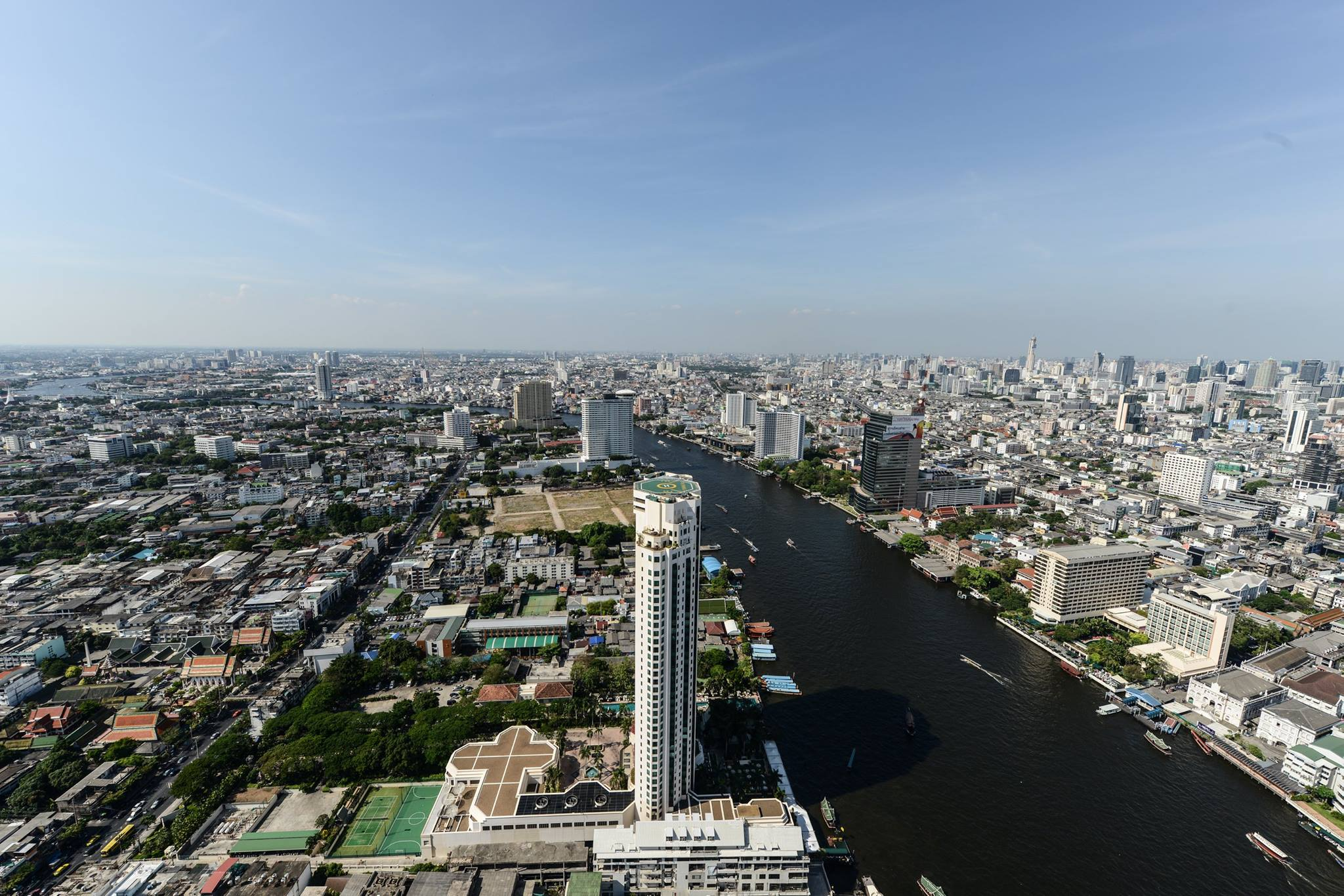 VisionQuest Thailand Property Agency's The River Penthouse 942sq.m spectacular 180 degrees river and city views 15