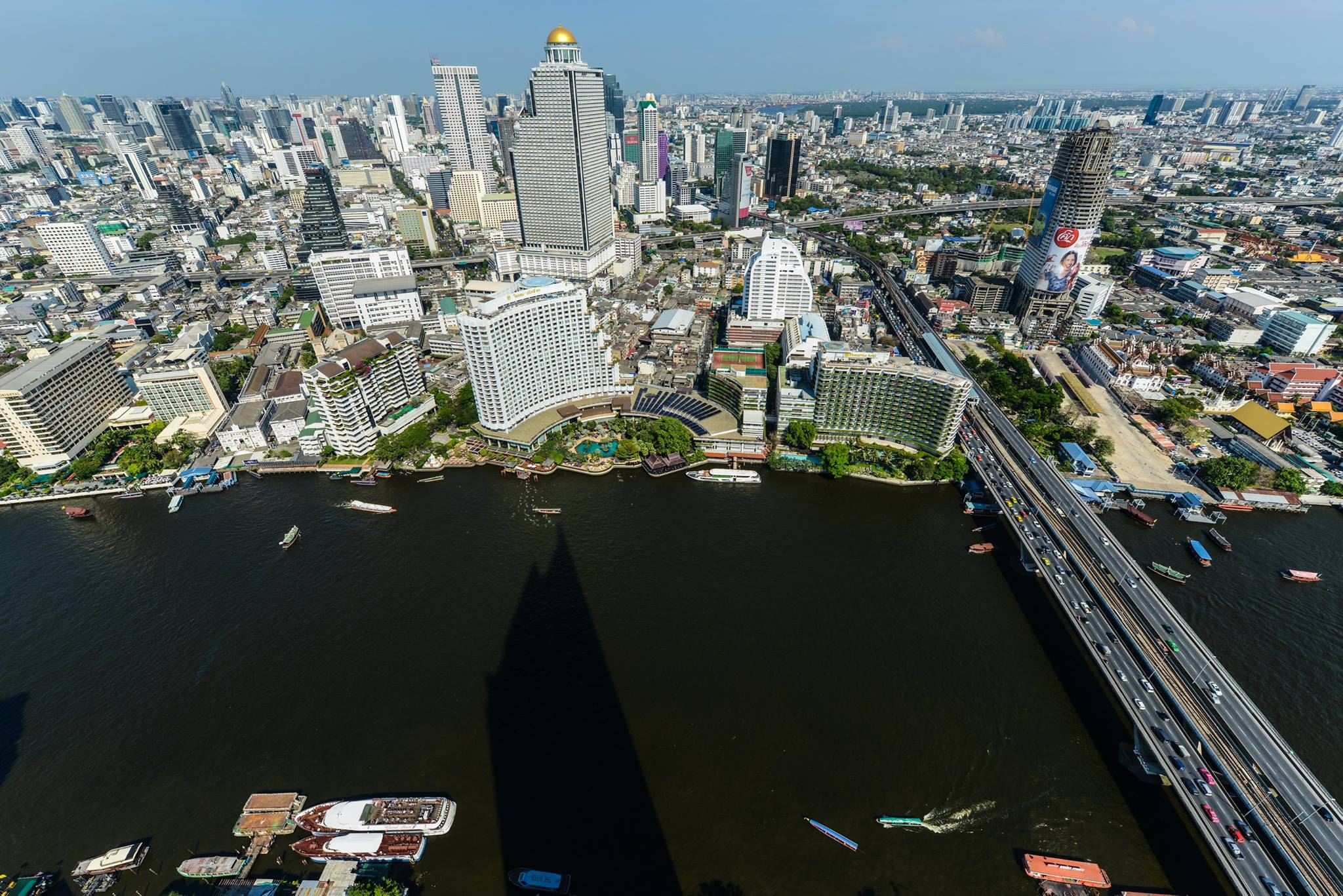 VisionQuest Thailand Property Agency's The River Penthouse 942sq.m spectacular 180 degrees river and city views 24