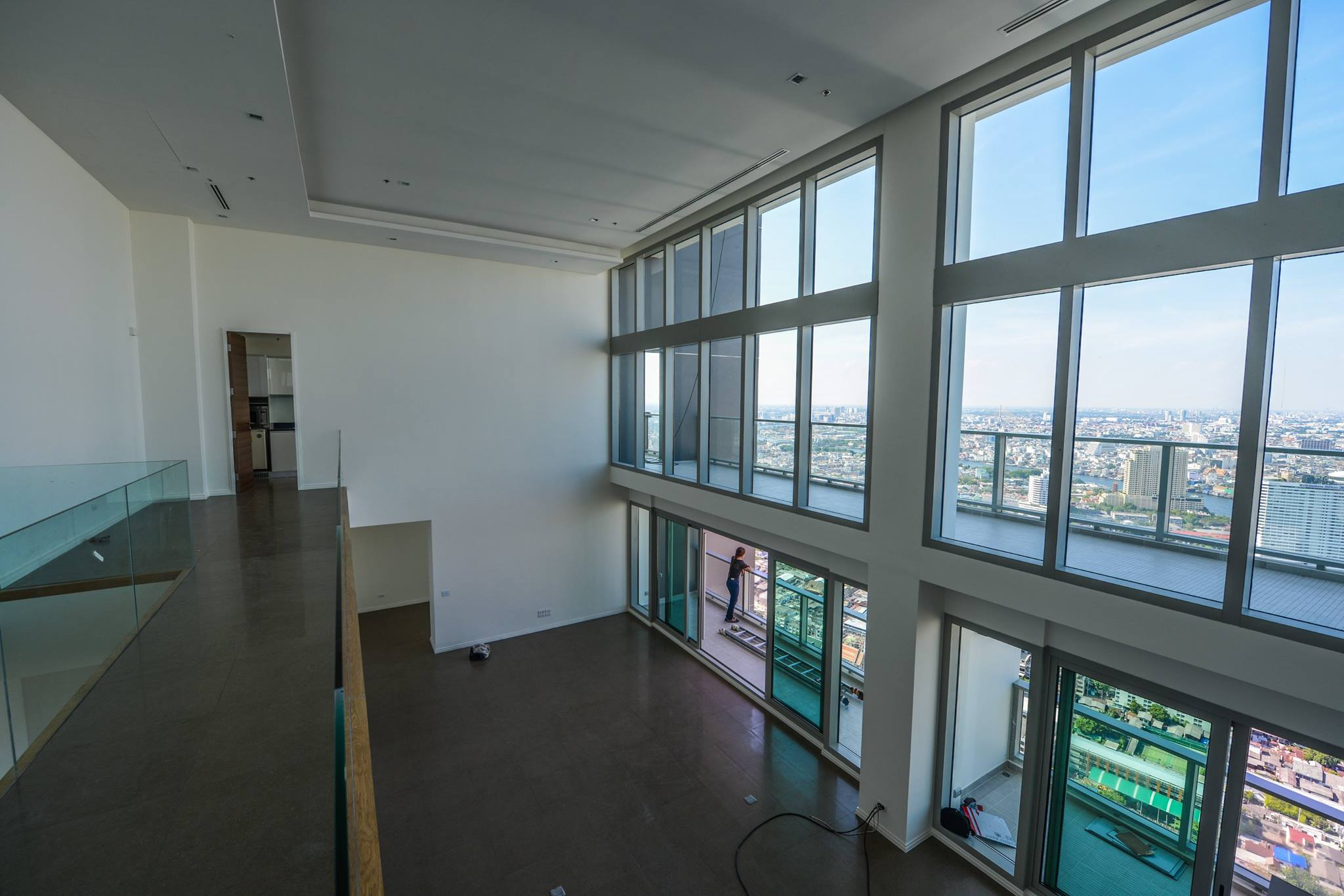 VisionQuest Thailand Property Agency's The River Penthouse 942sq.m spectacular 180 degrees river and city views 28