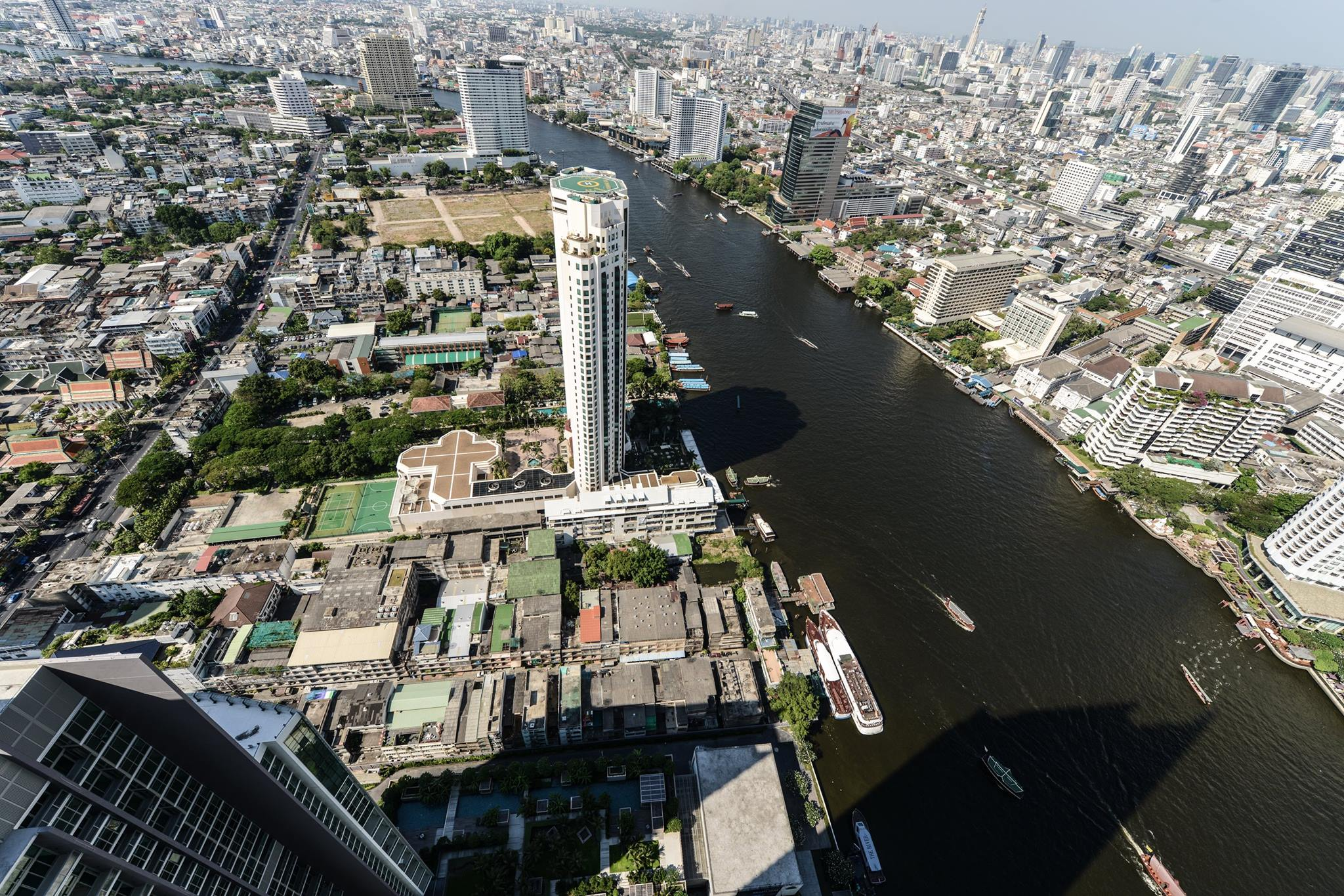 VisionQuest Thailand Property Agency's The River Penthouse 942sq.m spectacular 180 degrees river and city views 29