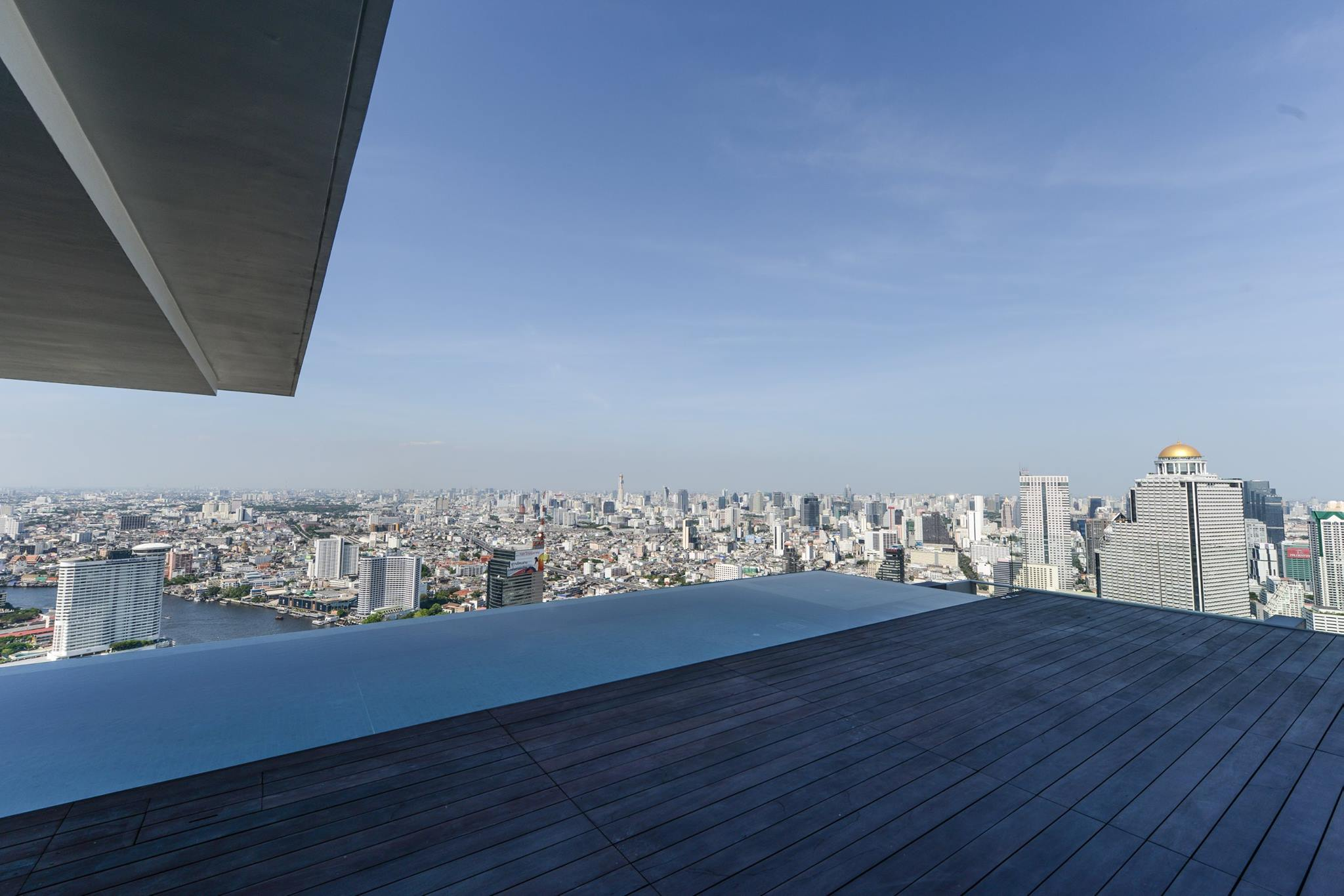 VisionQuest Thailand Property Agency's The River Penthouse 942sq.m spectacular 180 degrees river and city views 30