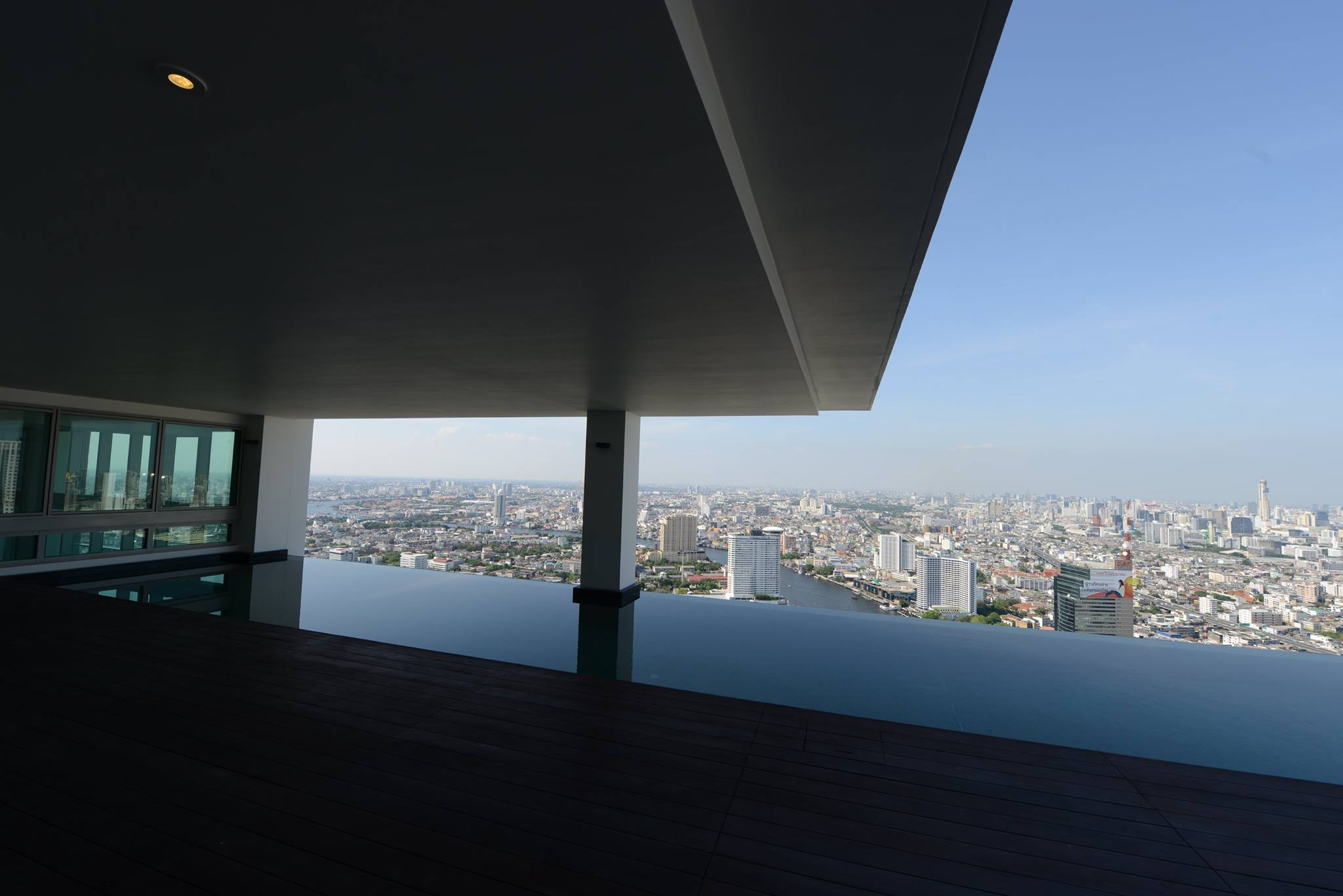 VisionQuest Thailand Property Agency's The River Penthouse 942sq.m spectacular 180 degrees river and city views 31