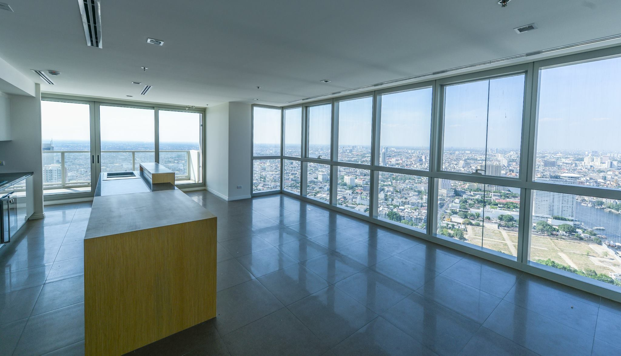 VisionQuest Thailand Property Agency's The River Penthouse 942sq.m spectacular 180 degrees river and city views 6