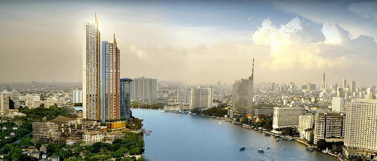 VisionQuest Thailand Property Agency's Chao Phraya River view 1 bedroom / living-room /size 70 sqm. 10
