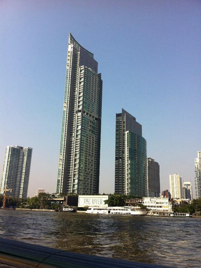 VisionQuest Thailand Property Agency's Chao Phraya River view 1 bedroom / living-room /size 70 sqm. 11