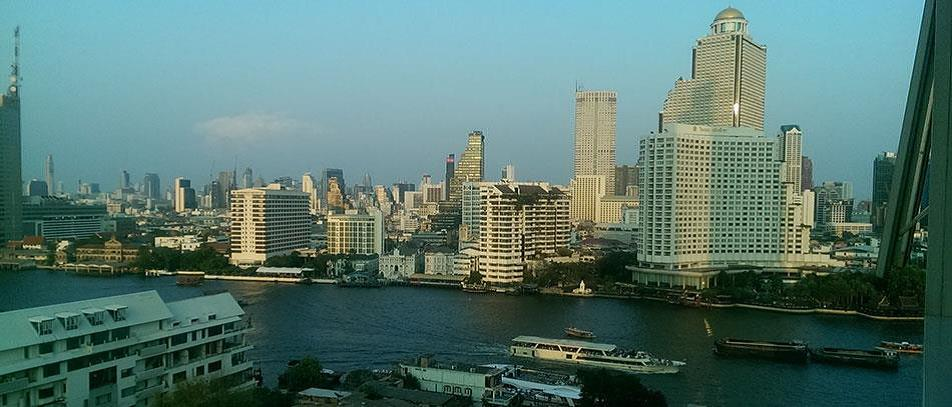VisionQuest Thailand Property Agency's Chao Phraya River view 1 bedroom / living-room /size 70 sqm. 6