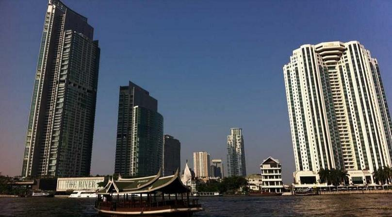 VisionQuest Thailand Property Agency's Chao Phraya River view 1 bedroom / living-room /size 70 sqm. 9