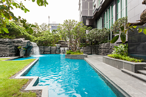VisionQuest Thailand Property Agency's Asoke 2 bedroom 2 bathroom + 1 Jacuzzi size 65 sqm 19