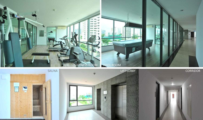 for rent at click condo sukhumvit 65 watthana bangkok. Black Bedroom Furniture Sets. Home Design Ideas