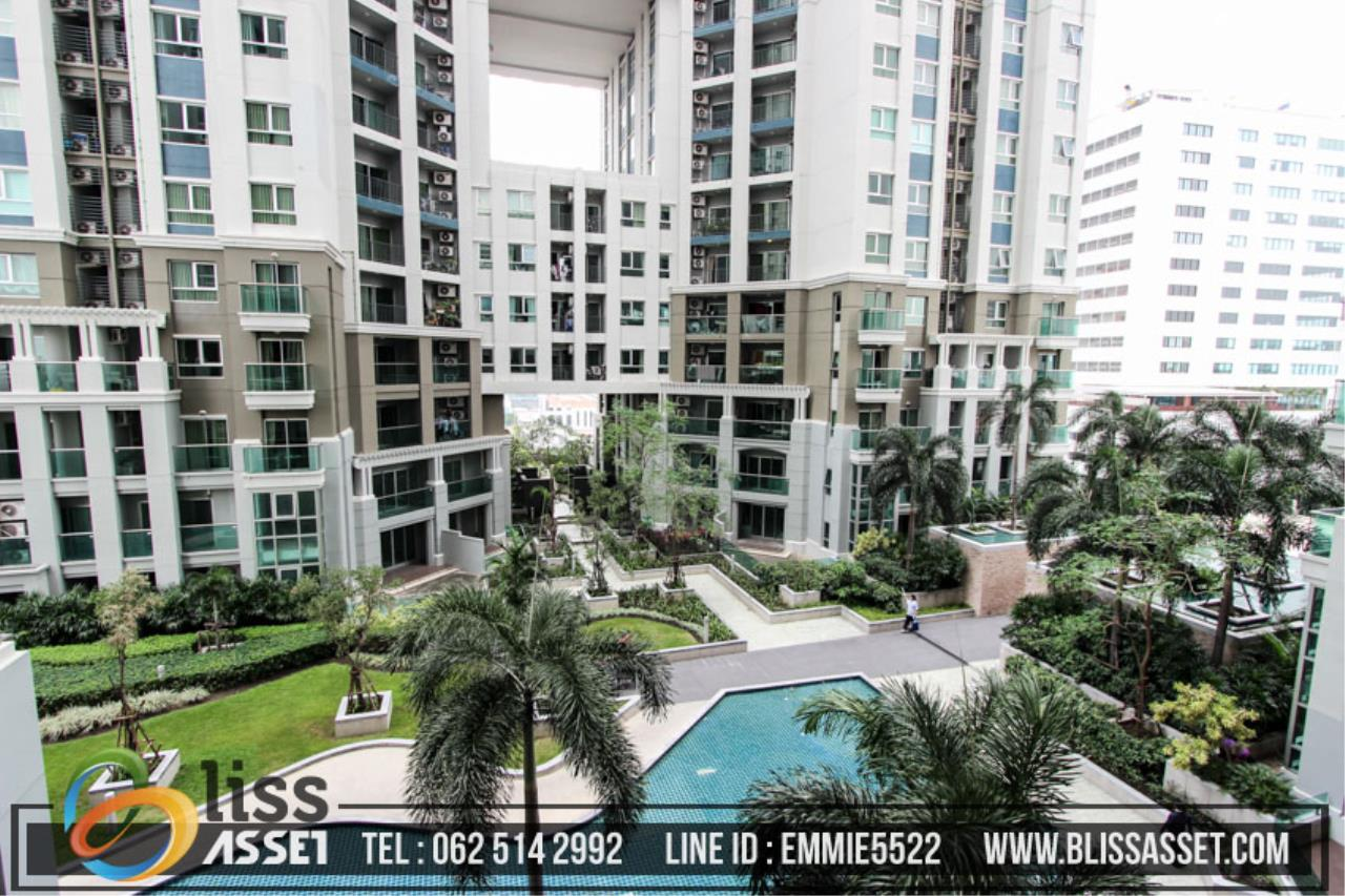 Bliss Asset Corporation Agency's For Sell Belle Grand Rama 9 Area 97.32 Sq.m 3 bedrooms 2 bathrooms building D2 8th floor 16
