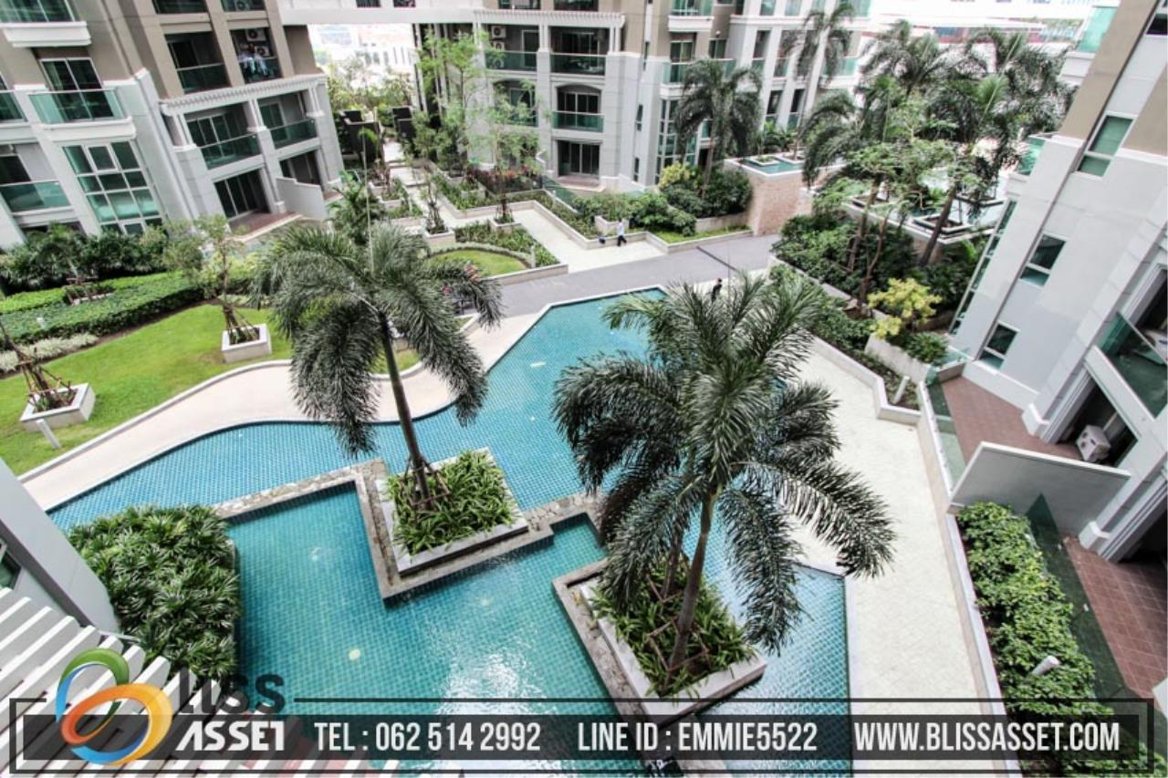 Bliss Asset Corporation Agency's For Sell Belle Grand Rama 9 Area 97.32 Sq.m 3 bedrooms 2 bathrooms building D2 8th floor 17
