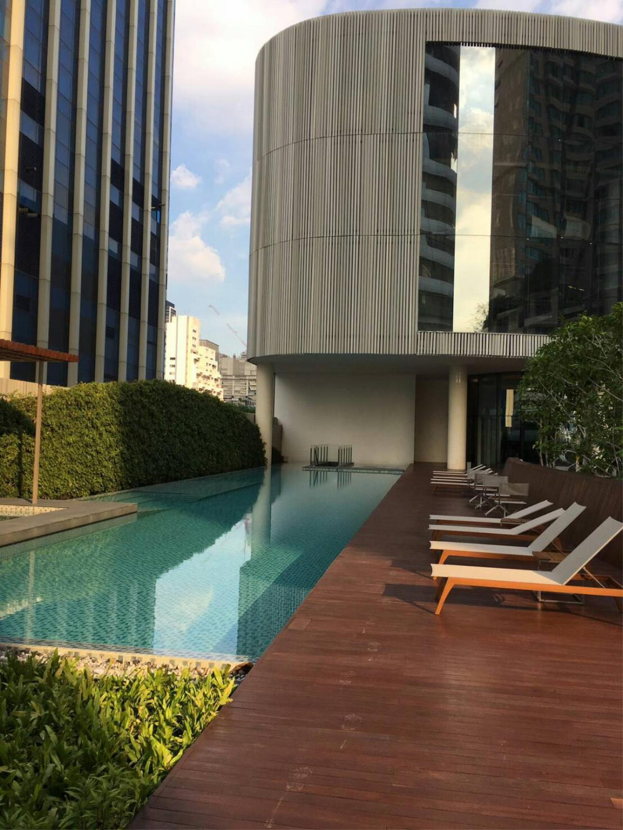 Optima Global Real Estate Agency's LUXURY 1 BEDROOM FOR RENT AT MAGNOLIAS RATCHADAMRI BOULEVARD 1