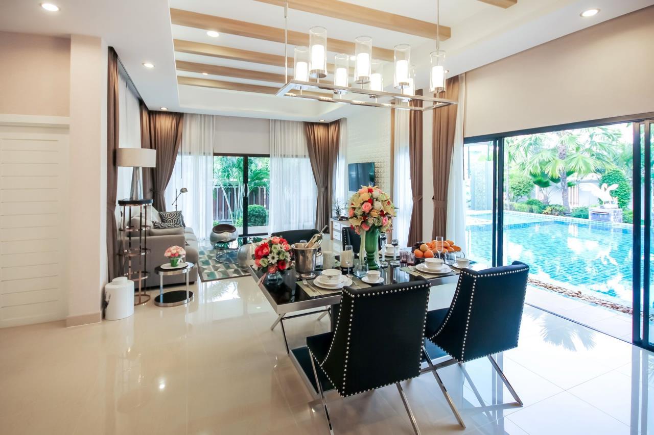 Thaiproperty1 Agency's New pool villa - 50% financ - Na Jomtien 14