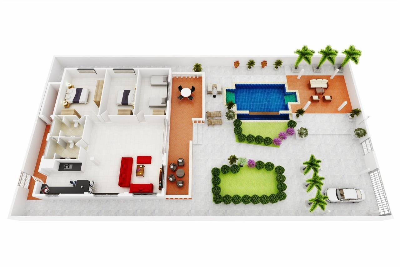 Thaiproperty1 Agency's Central located Pool Villa with high standard 26
