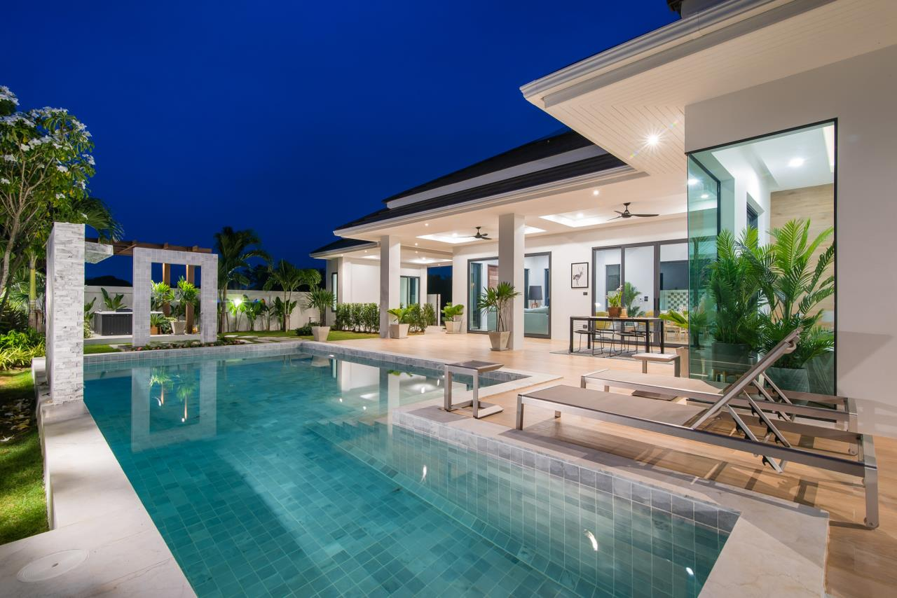 Thaiproperty1 Agency's Awesome single storey pool Villa Project - Hua Hin  4