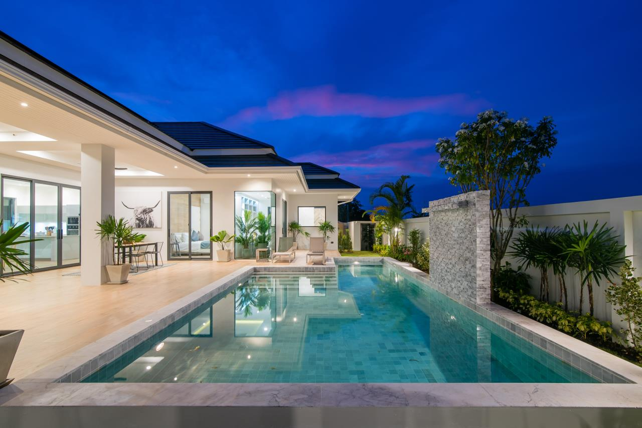 Thaiproperty1 Agency's Awesome single storey pool Villa Project - Hua Hin  35
