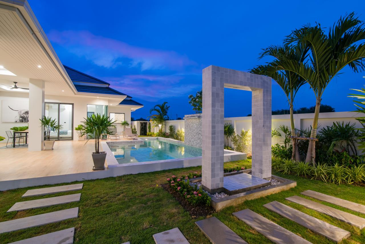 Thaiproperty1 Agency's Awesome single storey pool Villa Project - Hua Hin  34