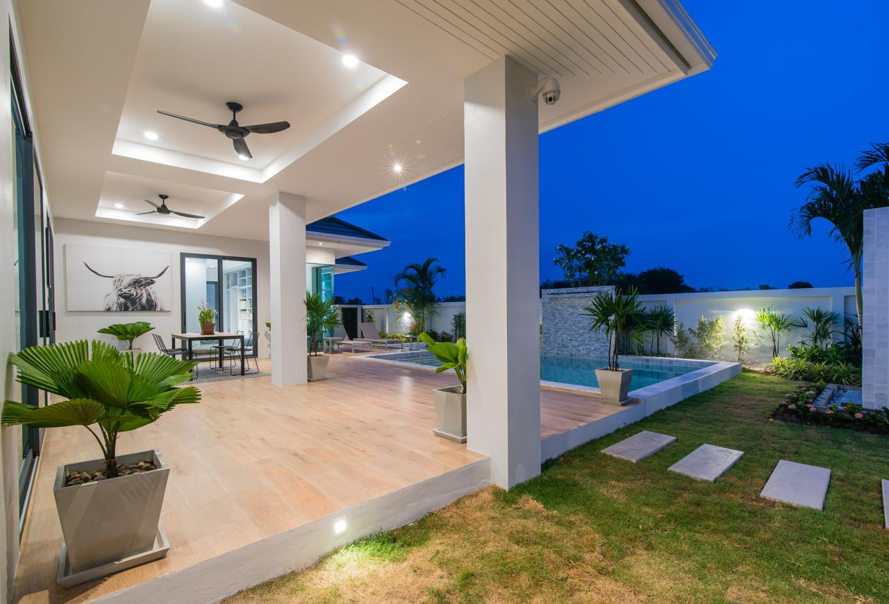Thaiproperty1 Agency's Awesome single storey pool Villa Project - Hua Hin  37