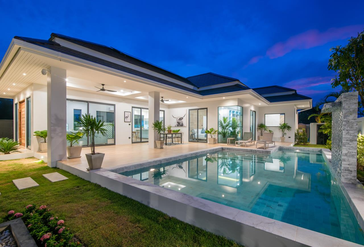 Thaiproperty1 Agency's Awesome single storey pool Villa Project - Hua Hin  3