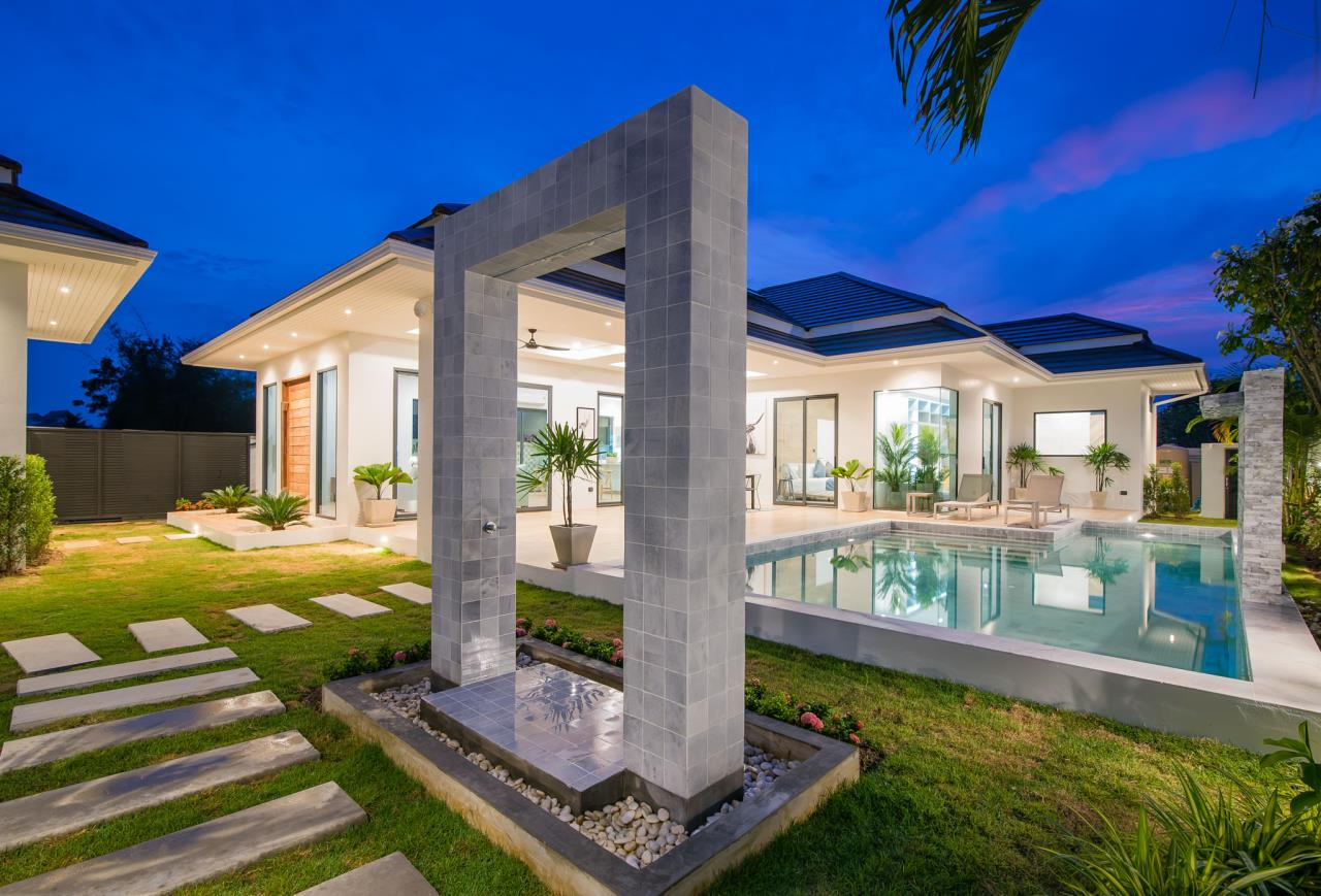 Thaiproperty1 Agency's Awesome single storey pool Villa Project - Hua Hin  33