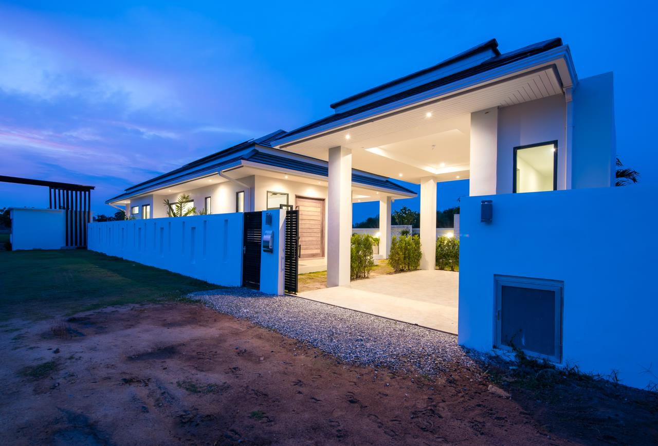 Thaiproperty1 Agency's Awesome single storey pool Villa Project - Hua Hin  44