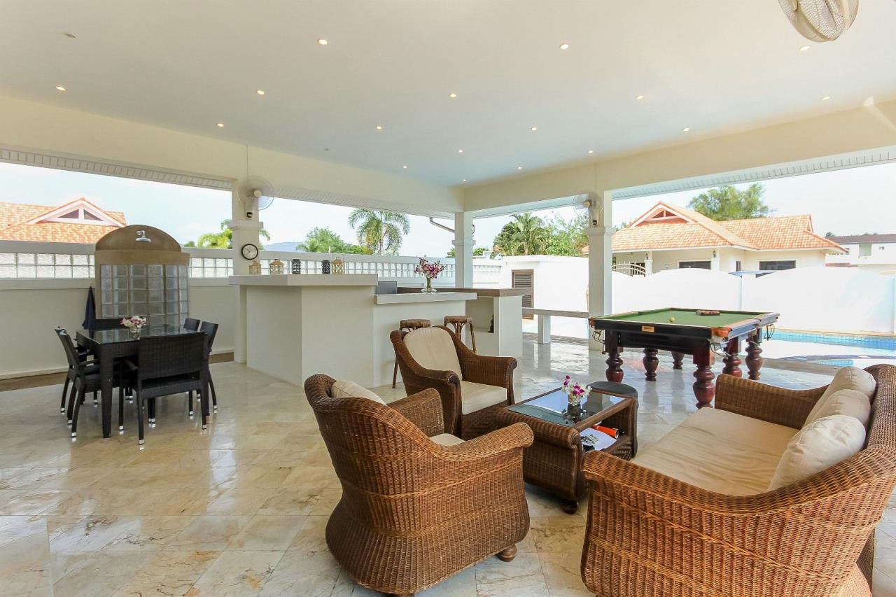 Thaiproperty1 Agency's Pool Villa with large covered outdoor area 5
