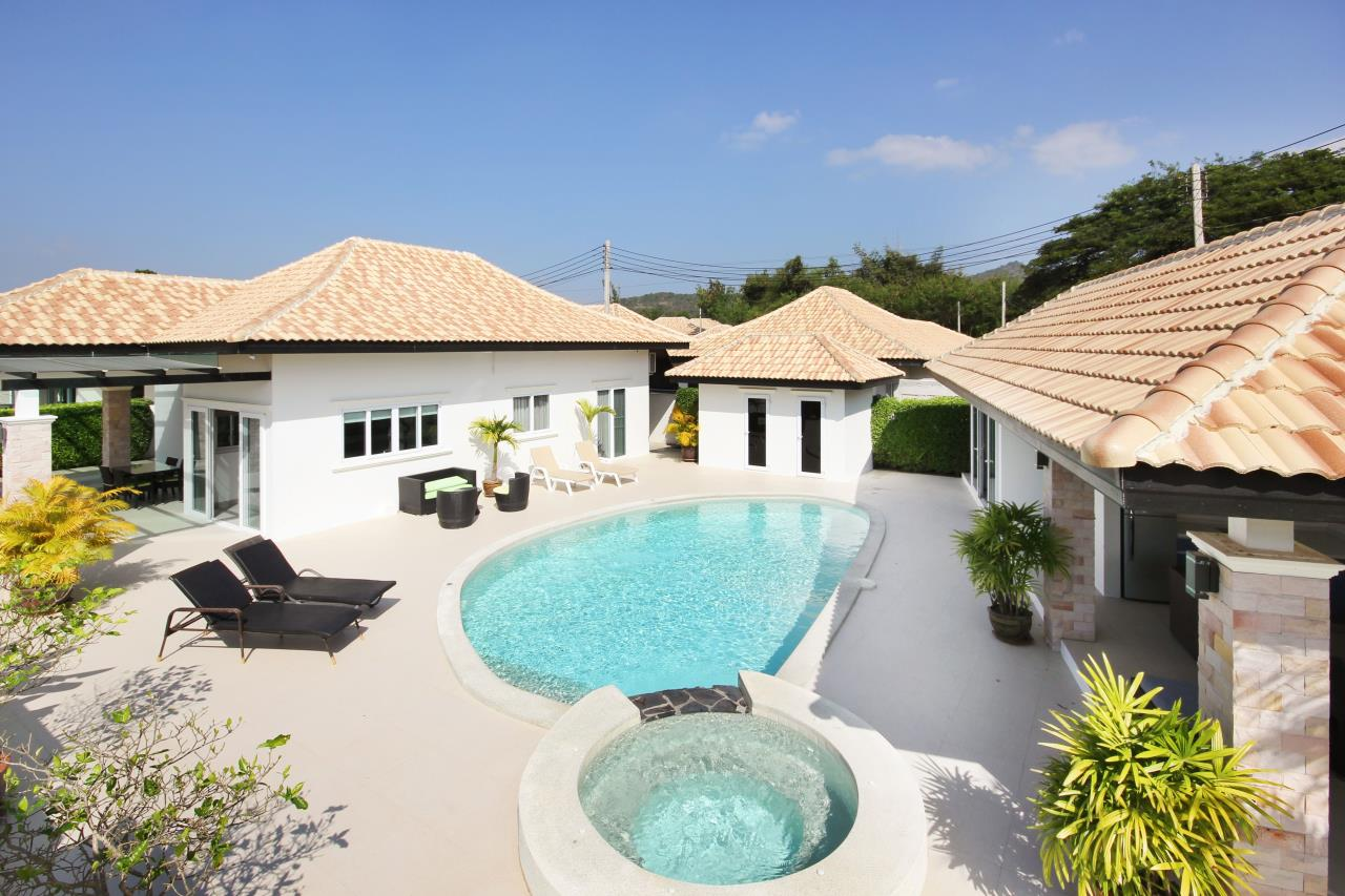 Thaiproperty1 Agency's Pool Villa With Guest House For Sale At Orchid Paradise Home 2 1
