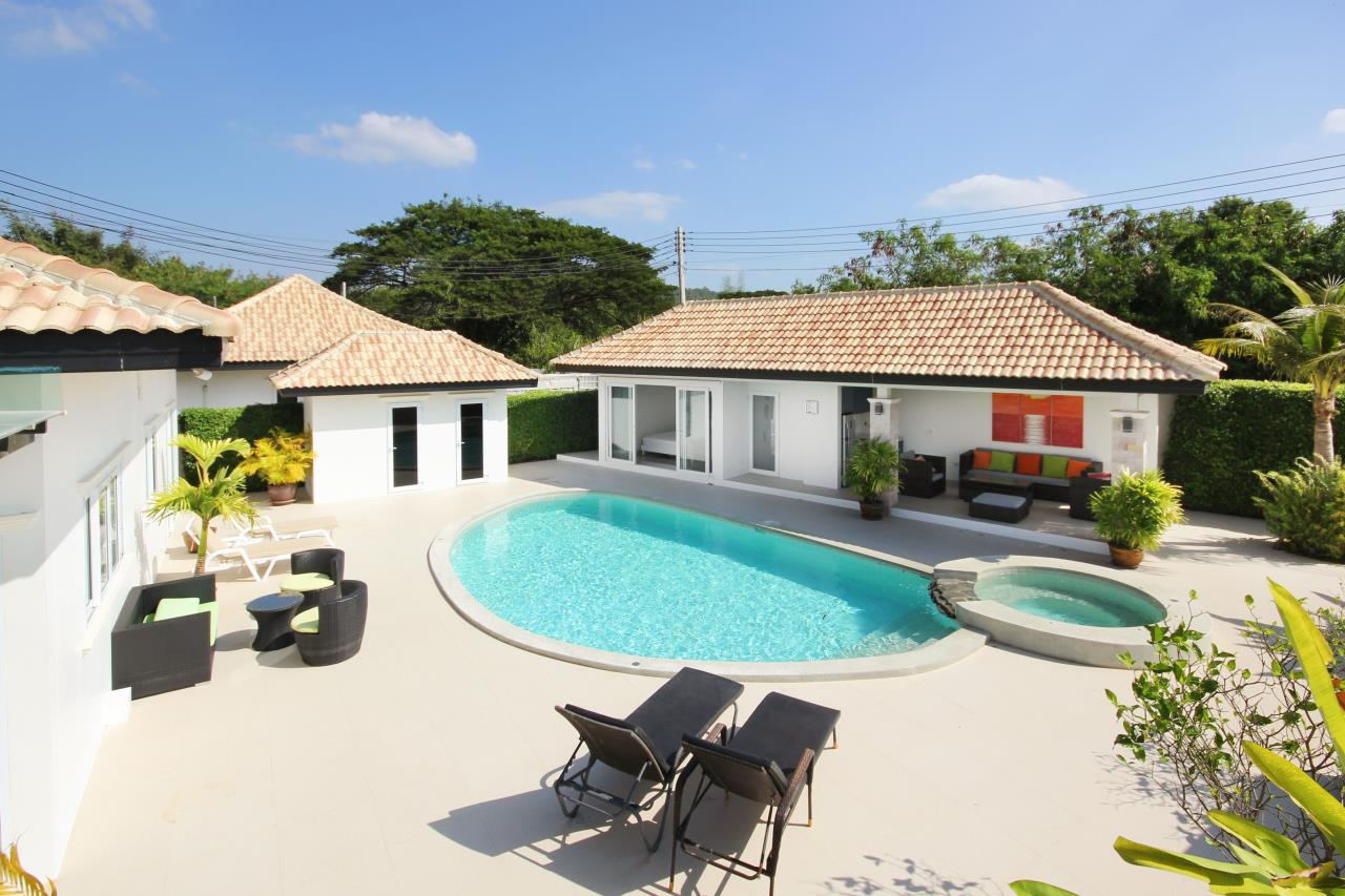 Thaiproperty1 Agency's Pool Villa With Guest House For Sale At Orchid Paradise Home 2 3