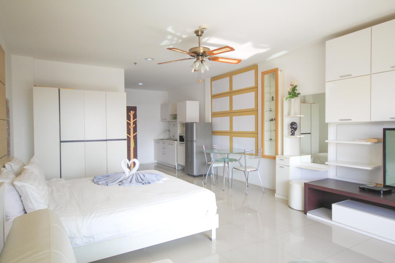 Thaiproperty1 Agency's Studio Unit On 10th Floor At View Talay 6  6