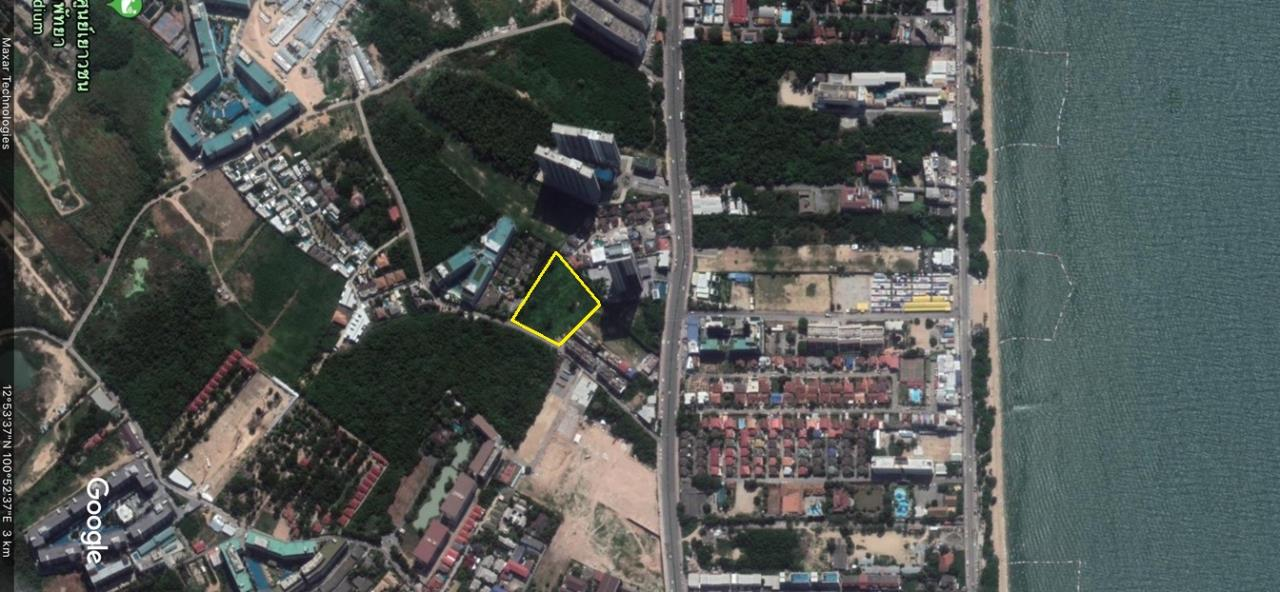 Thaiproperty1 Agency's Great Located 5 Rai Of Land For Sale In Second Road Jomtien    1