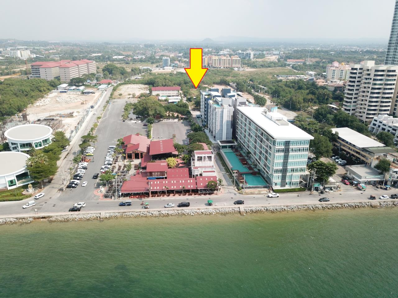 Thaiproperty1 Agency's 2,160 Sq.m Land Behind Pupen Restaurant - Jomtien Beach Road 3